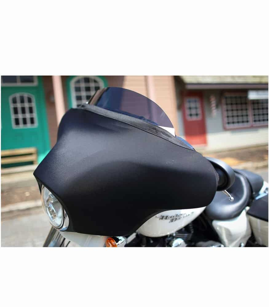 Novistretch Performance Fairing Batwings Style Mask Side View