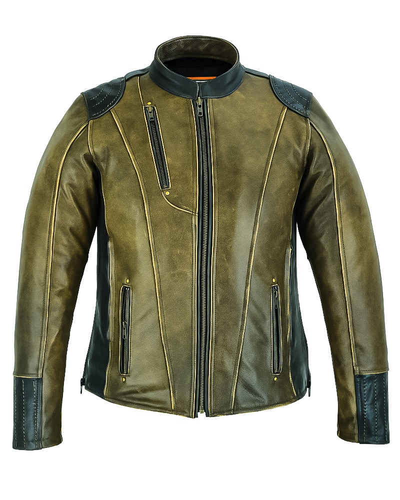 Daniel Smart mfg DS830 Women's Leather Jacket Dressed to the Night