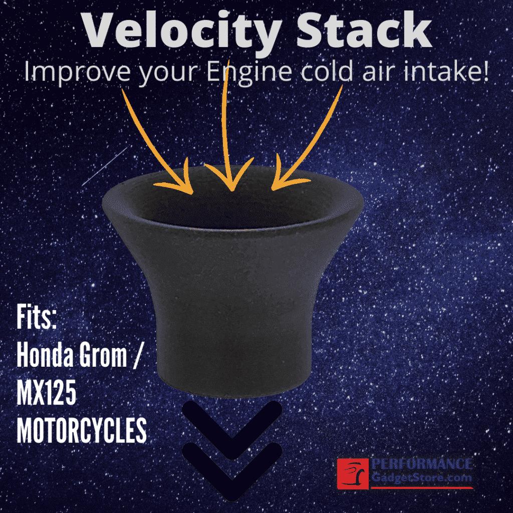 Velocity Stack fits Honda Grom MX125